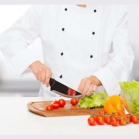 A celebrity chef