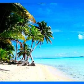 Anywhere with a good beach