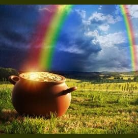 A pot of gold