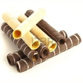 Rolled wafers