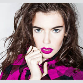 A bold lipstick