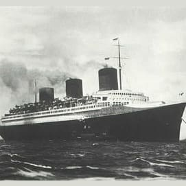 Steamer ship