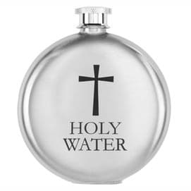 A sprinkling of holy water