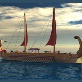 Human-powered boat