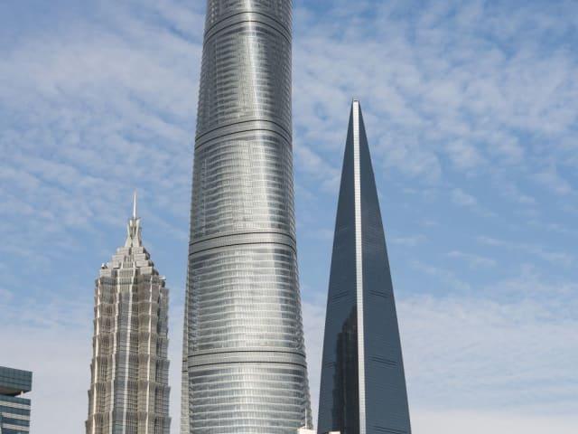 Шанхайская башня, Шанхай, 632 метра (самое высокое здание в Китае)