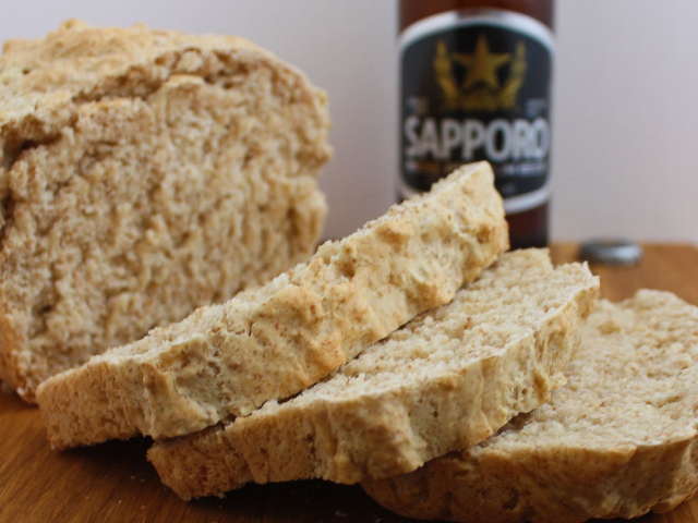 Beer bread is an awesome addition to chili