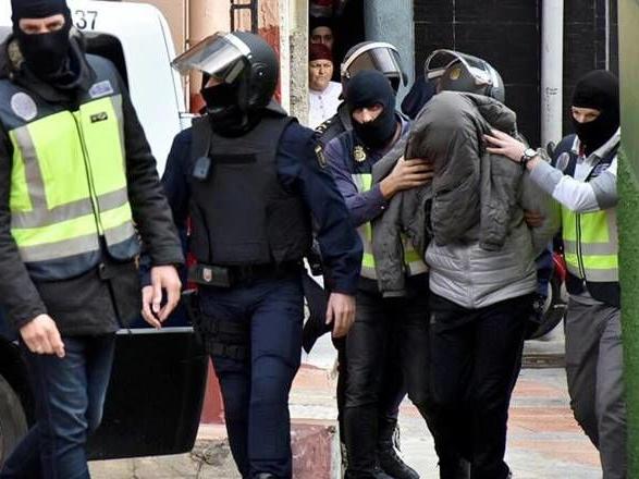 Levashov being taken away