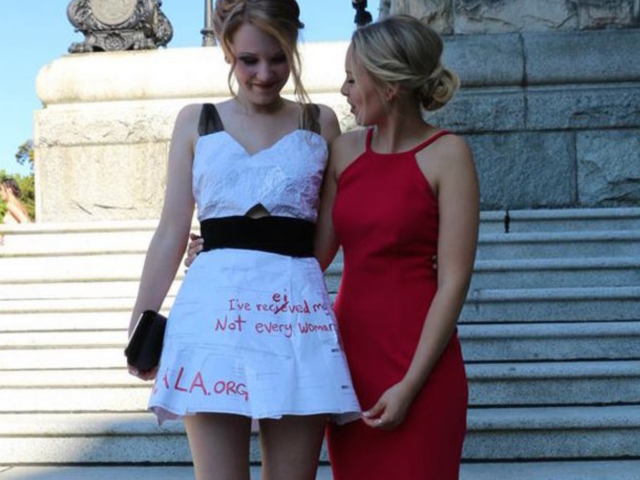 2067398260 These Are the Most Stunningly Woke and Creative Prom Dresses You ll ...