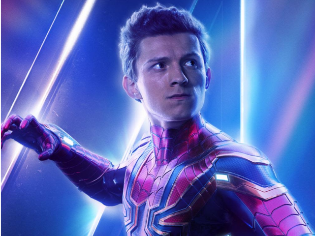 Tom Holland gives his best performance as the beloved Wallcrawler in INFINITY WAR.