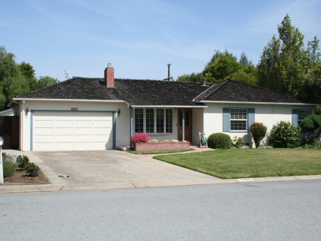 The Apple Garage, where Steve Jobs founded Apple in 1976 in Los Altos, CA.