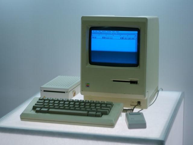 The Apple Macintosh, 1984.