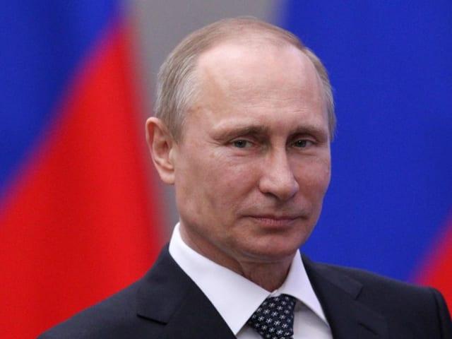 Putin spoke to the press this morning