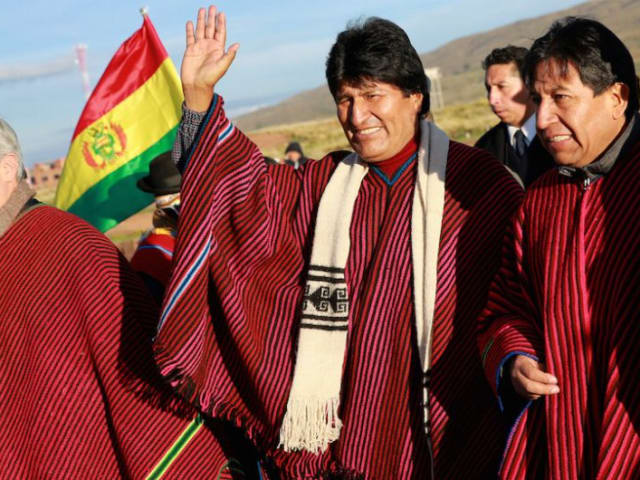 Primer presidente indígena de Bolivia