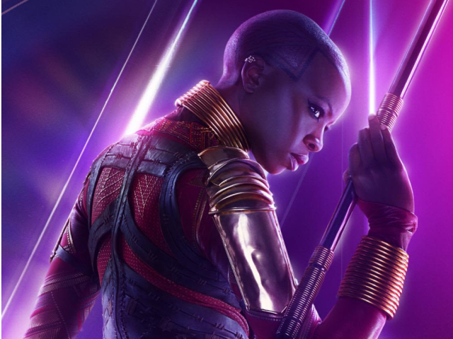 Danai Gurira's amazing Okoye is here to stay, and will no doubt play a pivotal role in AVENGERS 4.