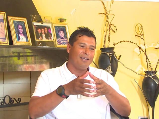Jugó en 2002 para Paraguay