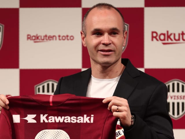 Andrés Iniesta (aged 34 at the time of moving), Vissel Kobe (Japan).