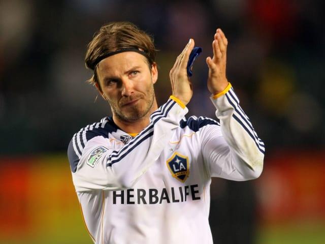 David Beckham (32), LA Galaxy (USA).
