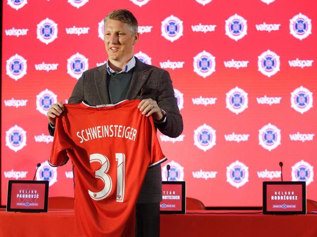 Bastian Schweinsteiger (32), Chicago Fire (USA).