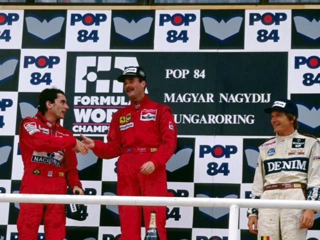 Mansell acabó por delante de Ayrton Senna y Thierry Boutsen.