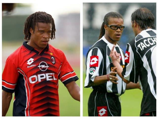 Edgar Davids: Milan (1996-97), Juventus (1997-2004)
