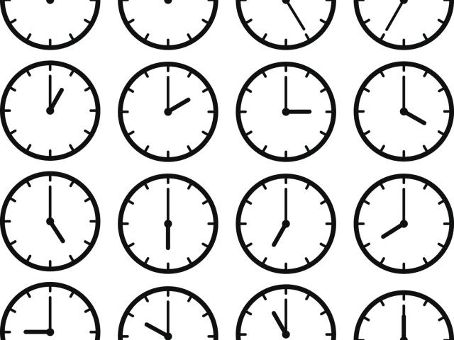 Car Radio Clock
