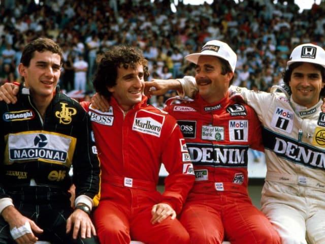 Nigel Mansell. Acabó en los puntos en 197 ocasiones.