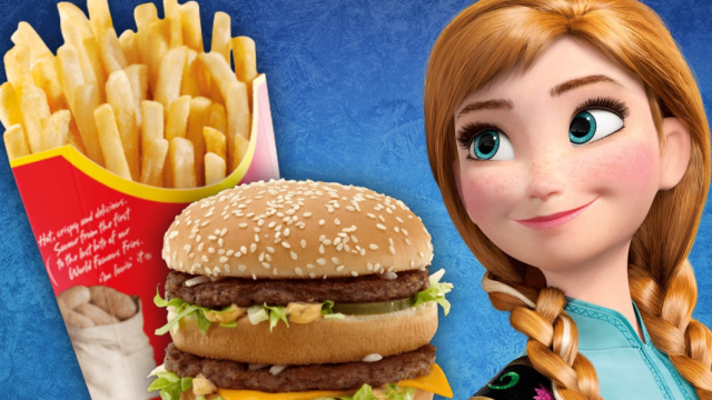 Let's take the time to focus on your two greatest loves - Disney and Junk food!