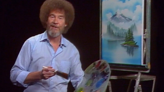 In honor of our recent blog post How to Have a Bob Ross Painting Date Night at Home at makeadateofit.com, we've created a quiz that will inspire you to get painting. Put together the pieces to create a masterpiece in the quiz below, and we'll give you a Bob Ross quote that will enlighten you about painting—and life.