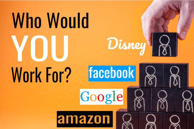 Which Of The 5 Biggest Companies In The World Would You Work For?