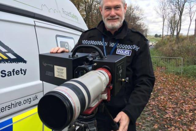 3e54d1d681 The long-ranger camera can detect motorists speeding from how far away