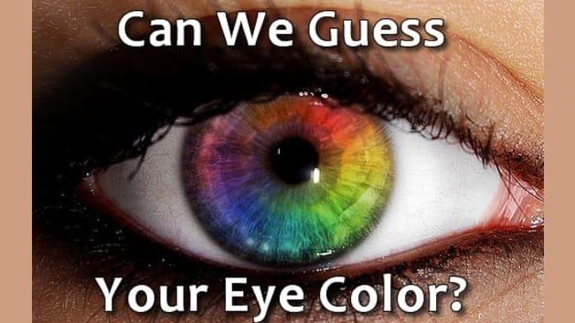 מה צבע העיניים שלך? אנחנו נבדוק את זה במבחן הזה.