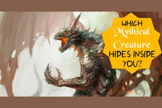 Which Mythical Creature Hides Inside You?