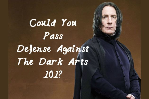 Could You Pass Defense Against The Dark Arts 101