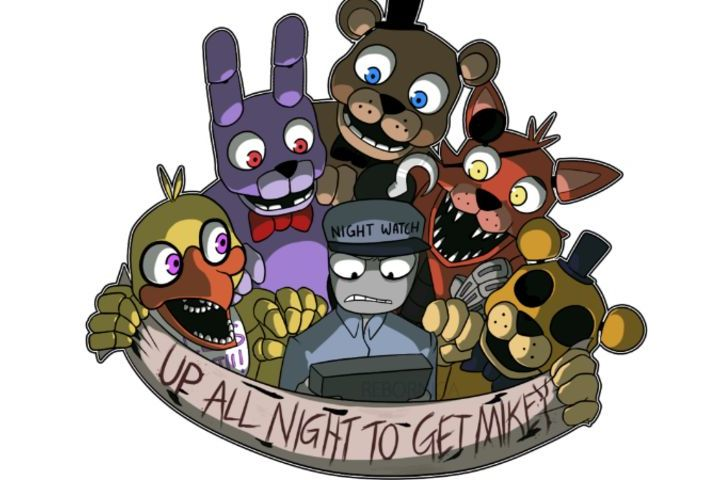 Which FNAF Guard Likes You? GIRLS ONLY!!!!!