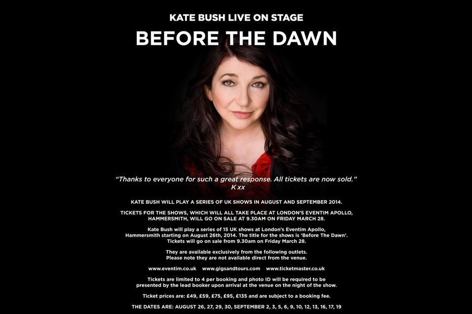 What Kind Of A Kate Bush Fan Are You?