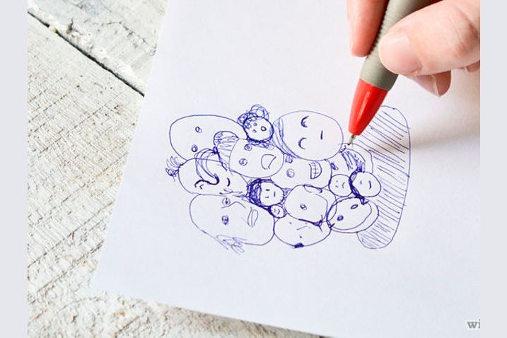 Test Draws On Doodles To Spot Signs Of >> What Do Your Doodles Say About You