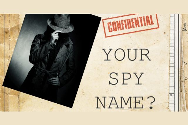 What Is Your Spy Name?