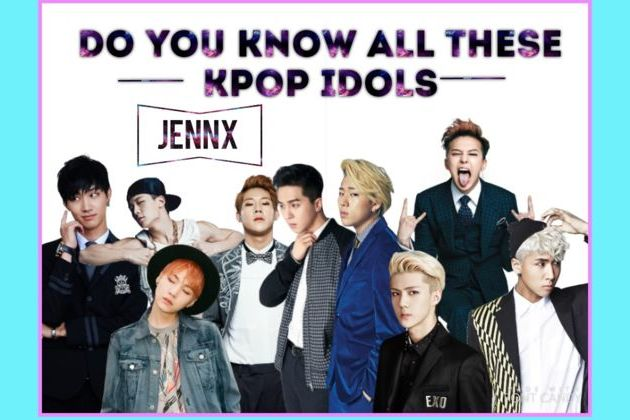 Do You Know All Of These Male Kpop Idols?