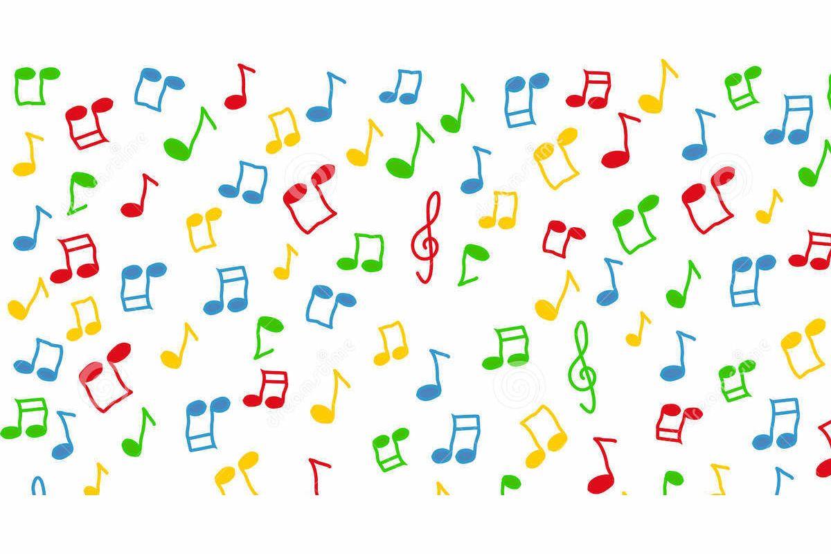 певица много цветных нот картинки девушек, загорающих