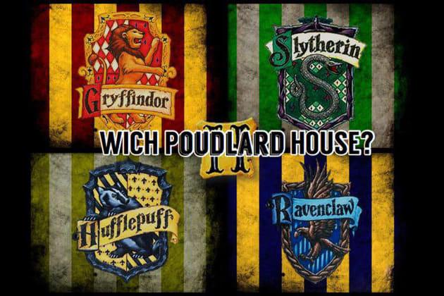 Quelle maison de Poudlard es-tu?