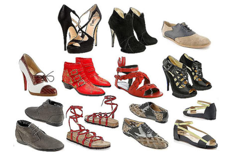 4c3bbf3f9 What you wear on your feet can reflect what s inside - find out what shoes  are most like you!
