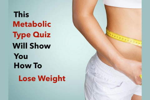 This Metabolic Type Quiz Will Reveal To You How To Lose Weight