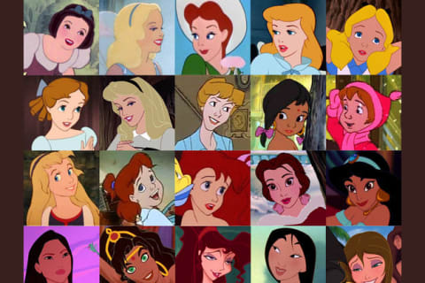 あなたはどの女性ディズニーキャラクター?