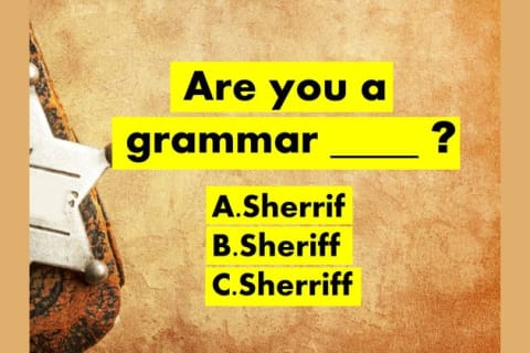 Can You Pass This IMPOSSIBLE Grammar Police Test?