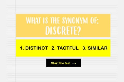 We Can Guess Your Level Of Education Based On Your Synonym