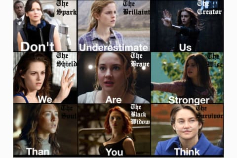 Katniss, Tris, Hermione, Hazel, Annabeth- Which Are You?