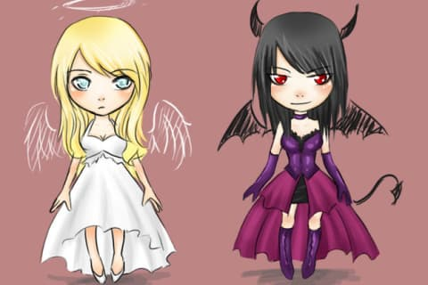 Are you a devil or an angel?