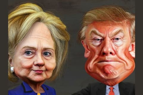 Are You More Like Donald Trump or Hillary Clinton?