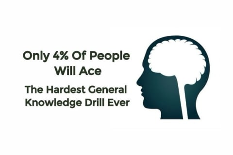 Only 4% Of People Will Ace The Hardest General Knowledge