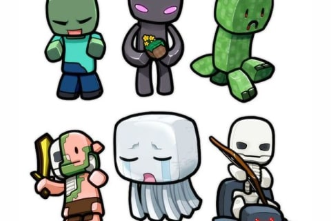 Which Minecraft Mob Are You?